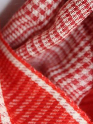 Plaid Red in detail
