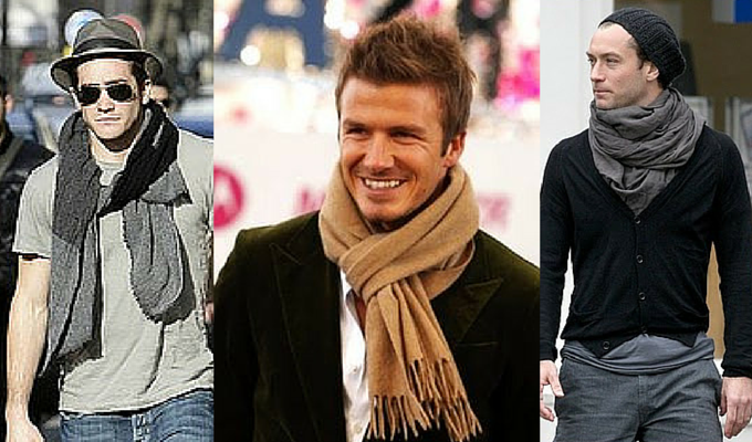 Men's Scarves and Pashminas